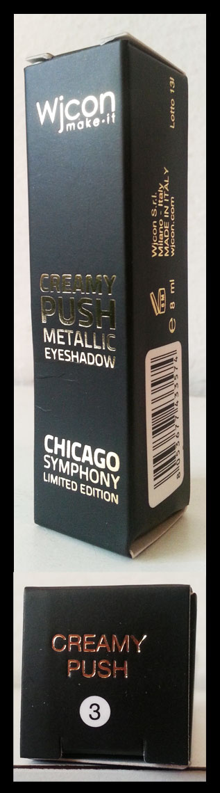 Wjcon - Chicago Symphony - Creamy Push Metallic Eyeshadow n° 3