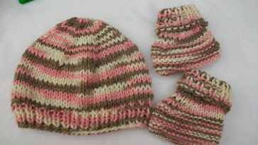 First knitted set
