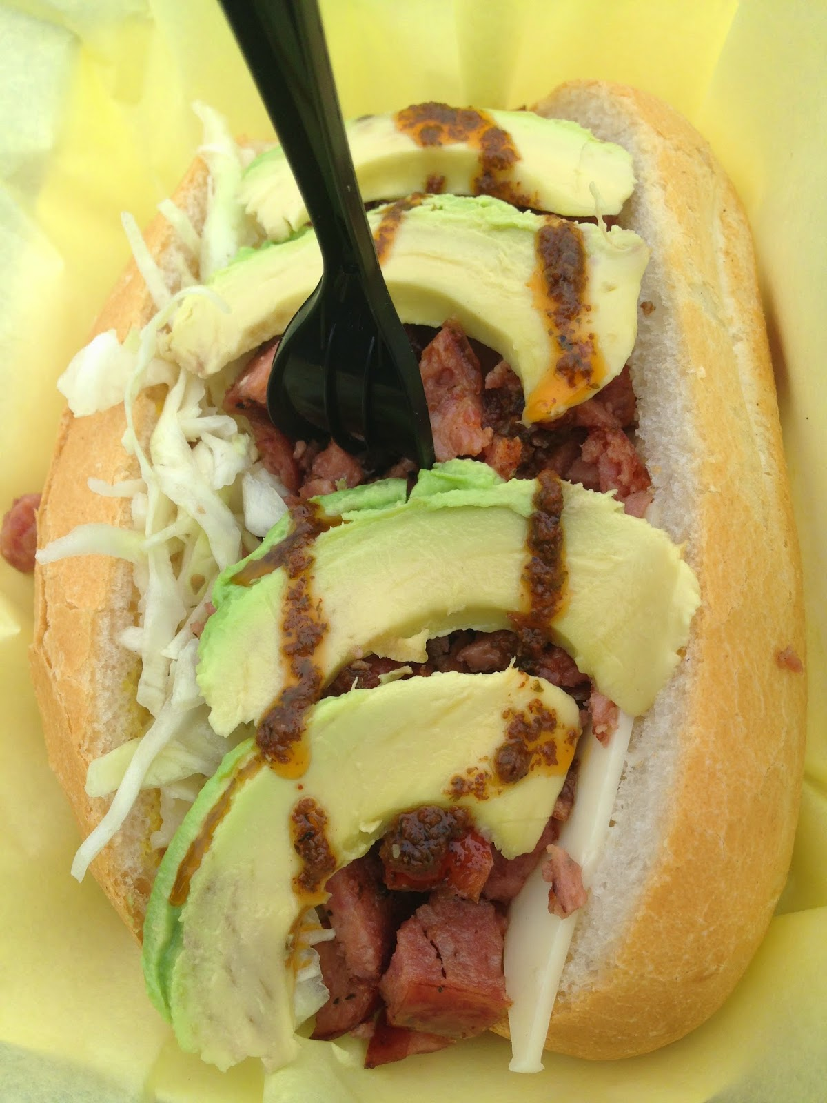 Churrasco Truck Brazilian Sausage Sandwich