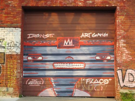 Iron Sreet Art Gang by Flaco