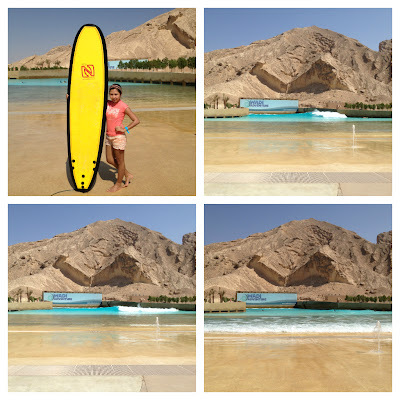 Wadi Adventure surfing area