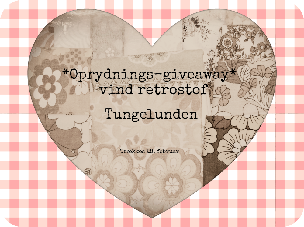 Giveaway hos Tungelunden