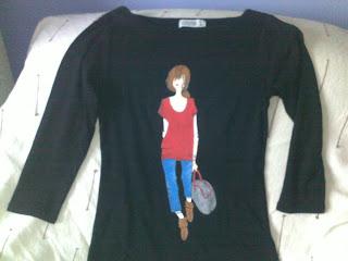 camiseta-básica-pintada