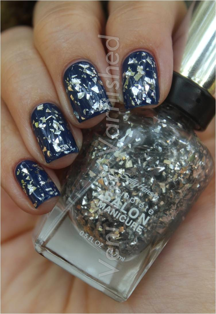 Sally Hansen Complete Salon Manicure New York Fashion Week NYFW 2014 Shattered Stars China Glaze First Mate