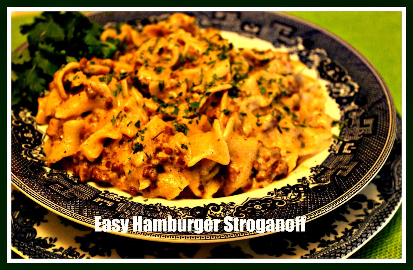 Sweet Tea and Cornbread: Easy Hamburger Stroganoff!