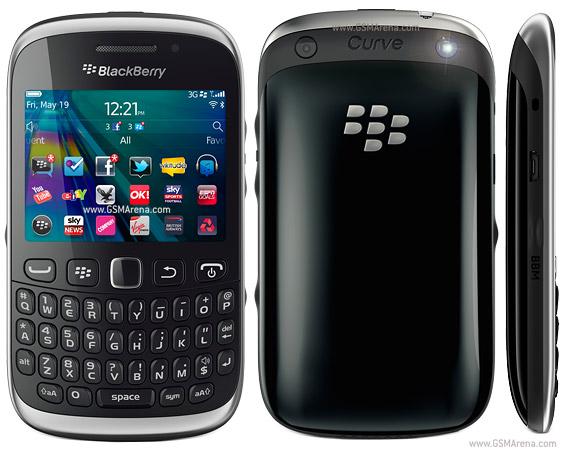 Informasi Harga blackberry curve terbaru