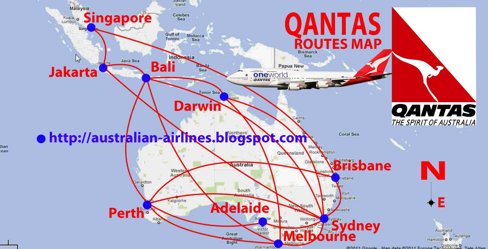 qantas jakarta sydney - photo#35