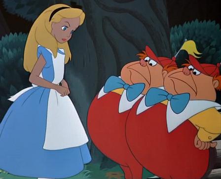 Disney entre p ginas alicia en el pa s de las maravillas for Espejo q aparece en una pelicula