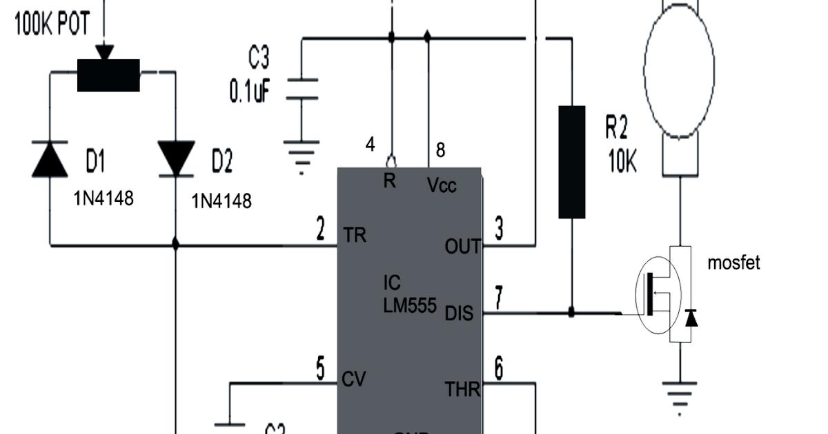 Pmdcmotorspeedcontrol Controlcircuit Circuit Diagram