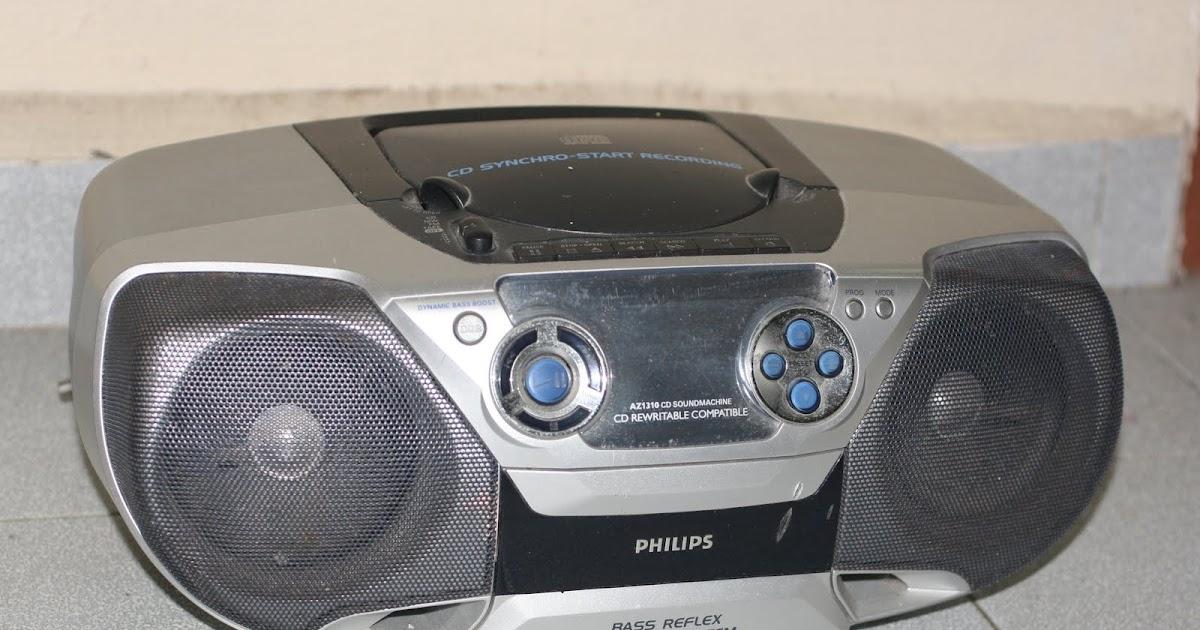 Philips AZ1310 User Manual