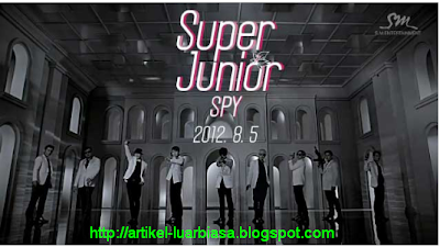 Album terbaru Super Junior SPY