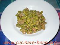 ricetta con fave fresche e piselli