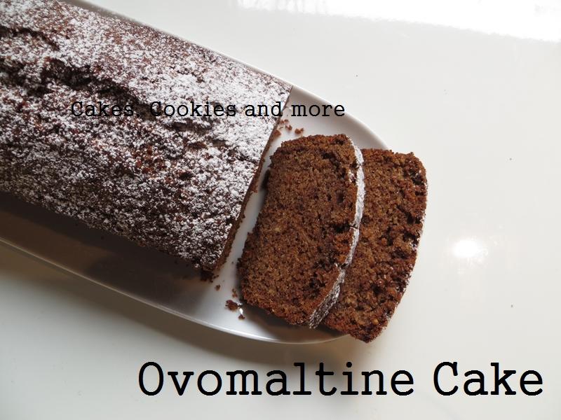 Ovomaltine Cake mit Haselnüssen