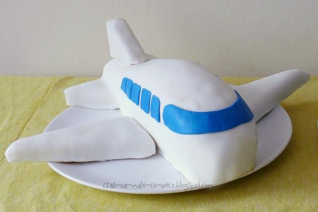 jak zrobić tort samolot