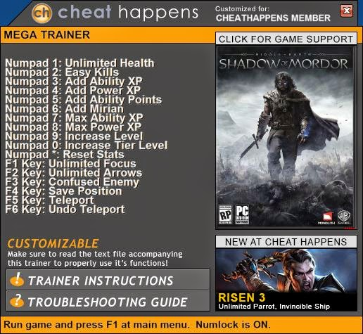 how to get ability points in shadow of mordor