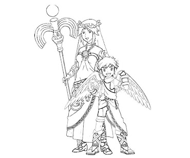 #17 Pit Coloring Page