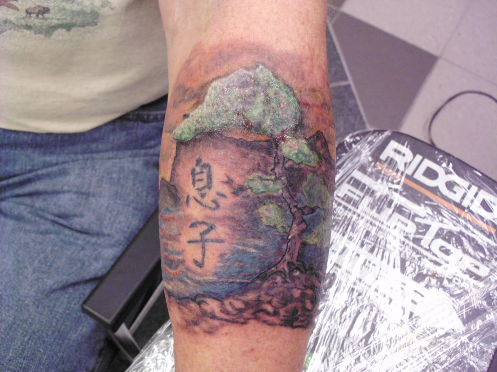 Justin Graves Tattoo Trees