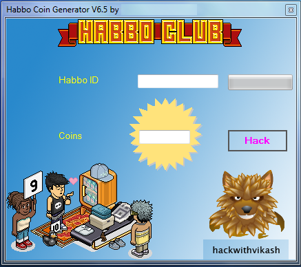 Habbo Cheats, Hack and Coin Generator 2014