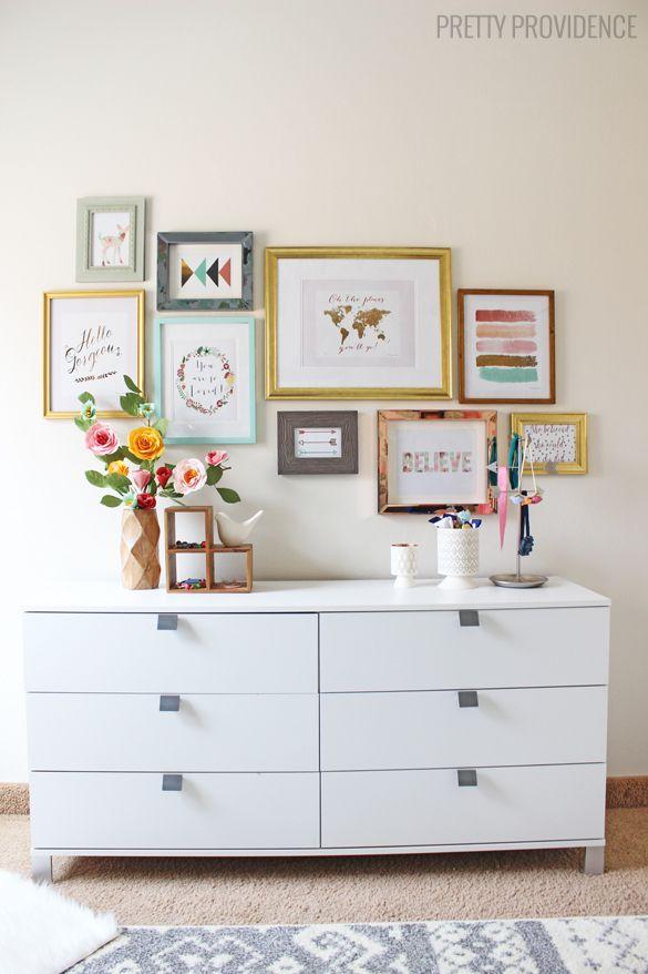 Govinda: Cómo llenar una pared de cuadros?