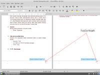 memberikan halaman pada LibreOffice writer