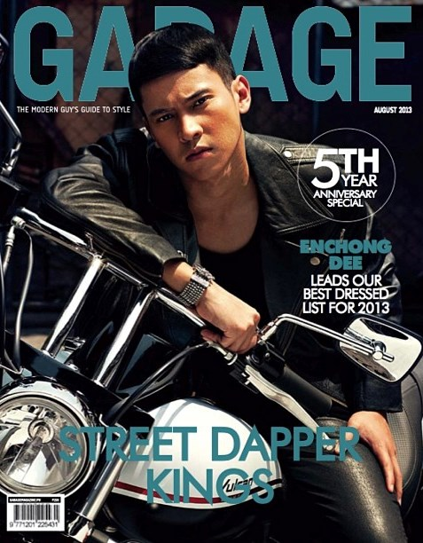 Enchong Dee Covers Garage Magazine August 2013 Issue