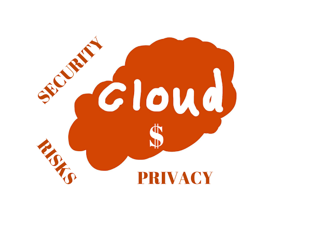 What are the risks associated with cloud storage