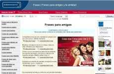 Frases para el Día del Amigo online Euroresidentes