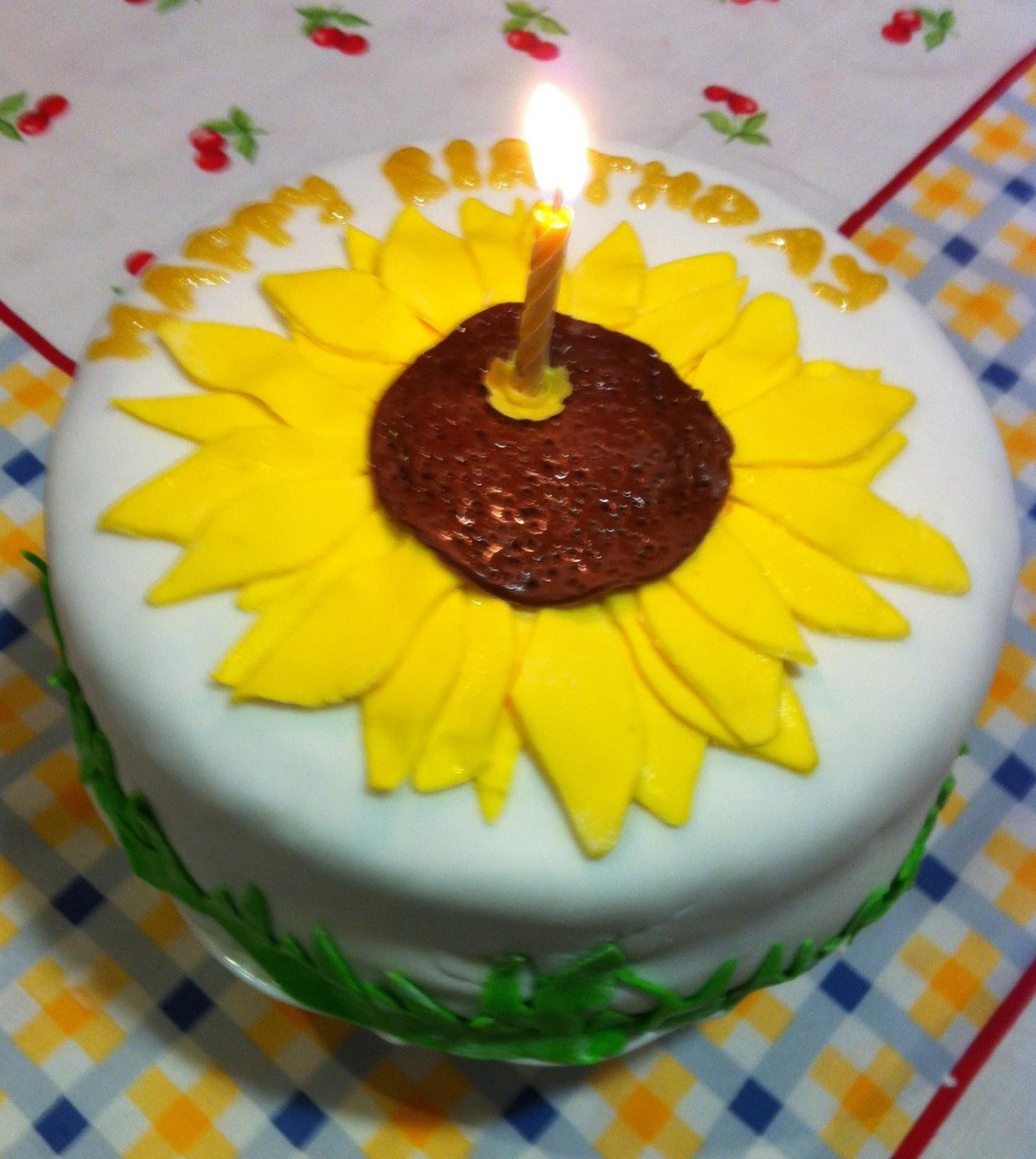 Milis Sunflower Cake