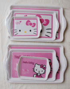 Nampan hello kitty