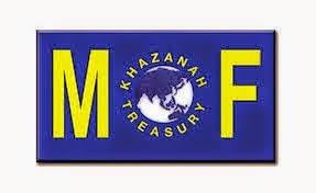 Jawatan Kerja Kosong Kementerian Kewangan Malaysia (MOF) logo www.ohjob.info