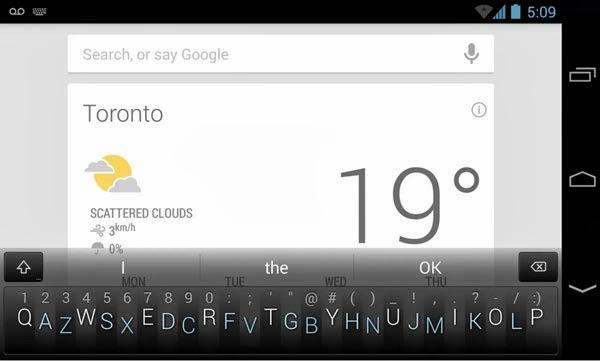 Minuum keyboard Apk
