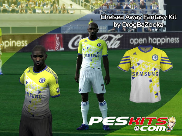 PES 2012 Kit Away Chelsea FC Fantasy by DrogBaZooka