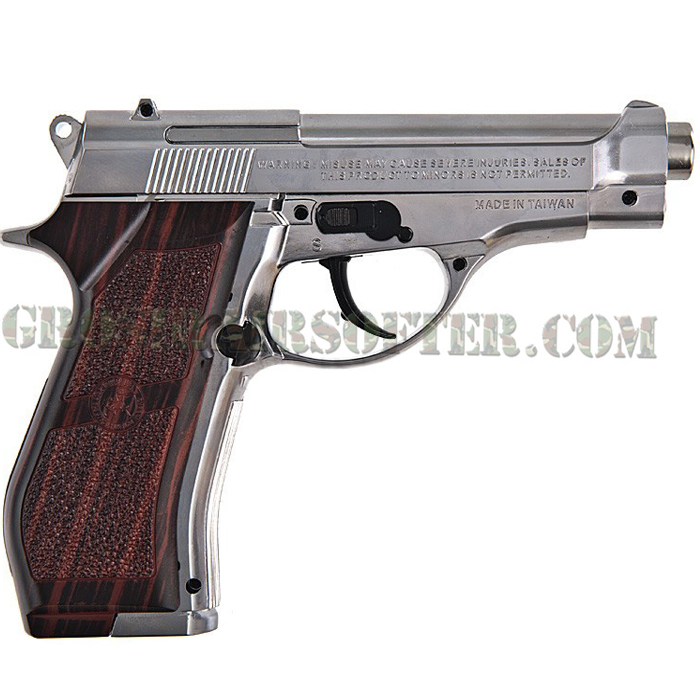 Beretta M84 Silver