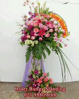 toko bunga standing flowers mewah bagus dan murah, toko bunga