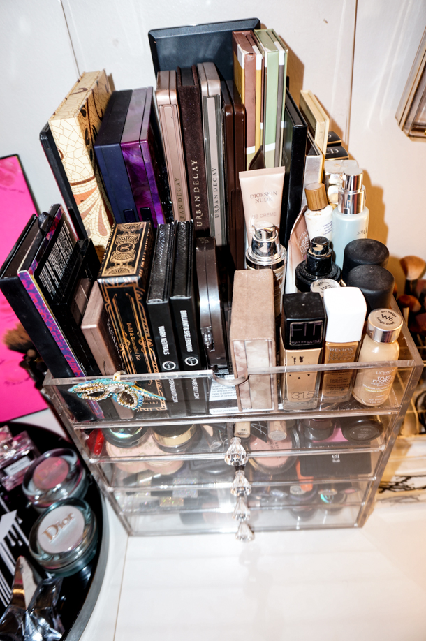 Makeup Collection Storage Vanity Tour Irenesarah