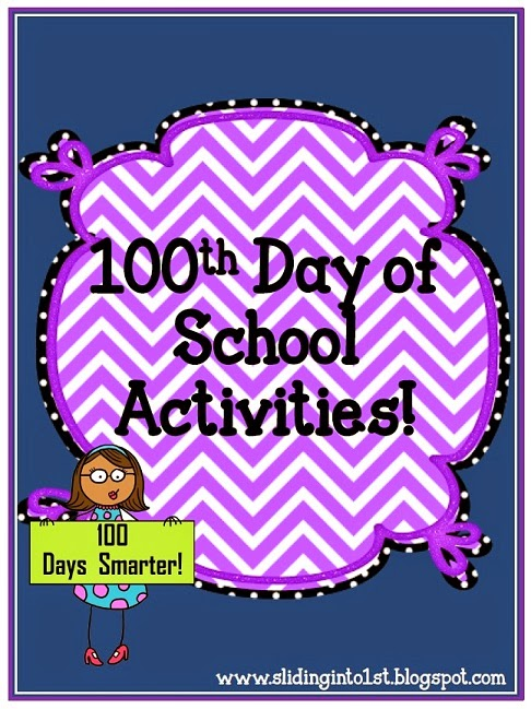 http://www.teacherspayteachers.com/Product/Activities-for-the-100th-Day-of-School-506281
