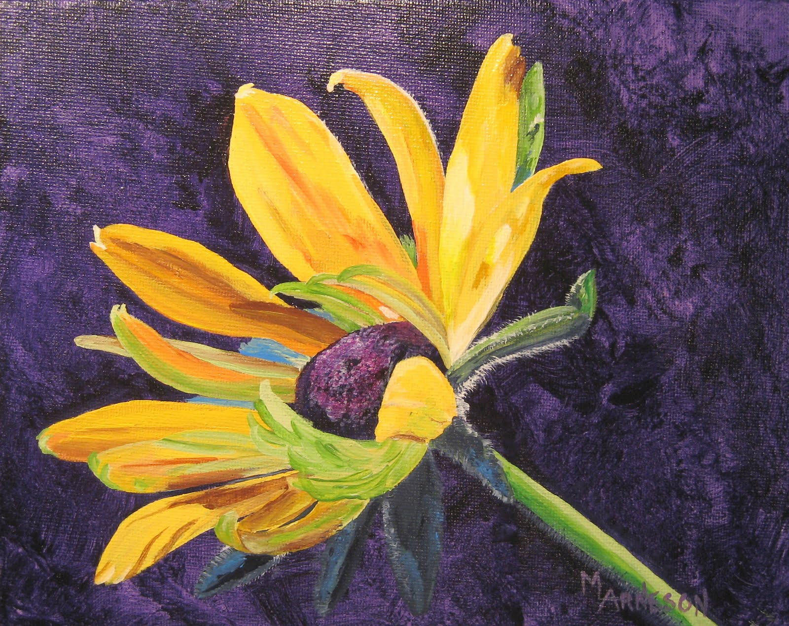 "Mary Arneson Fine Art ""Lifes Pleasure"" Flower Painting by Colorado"