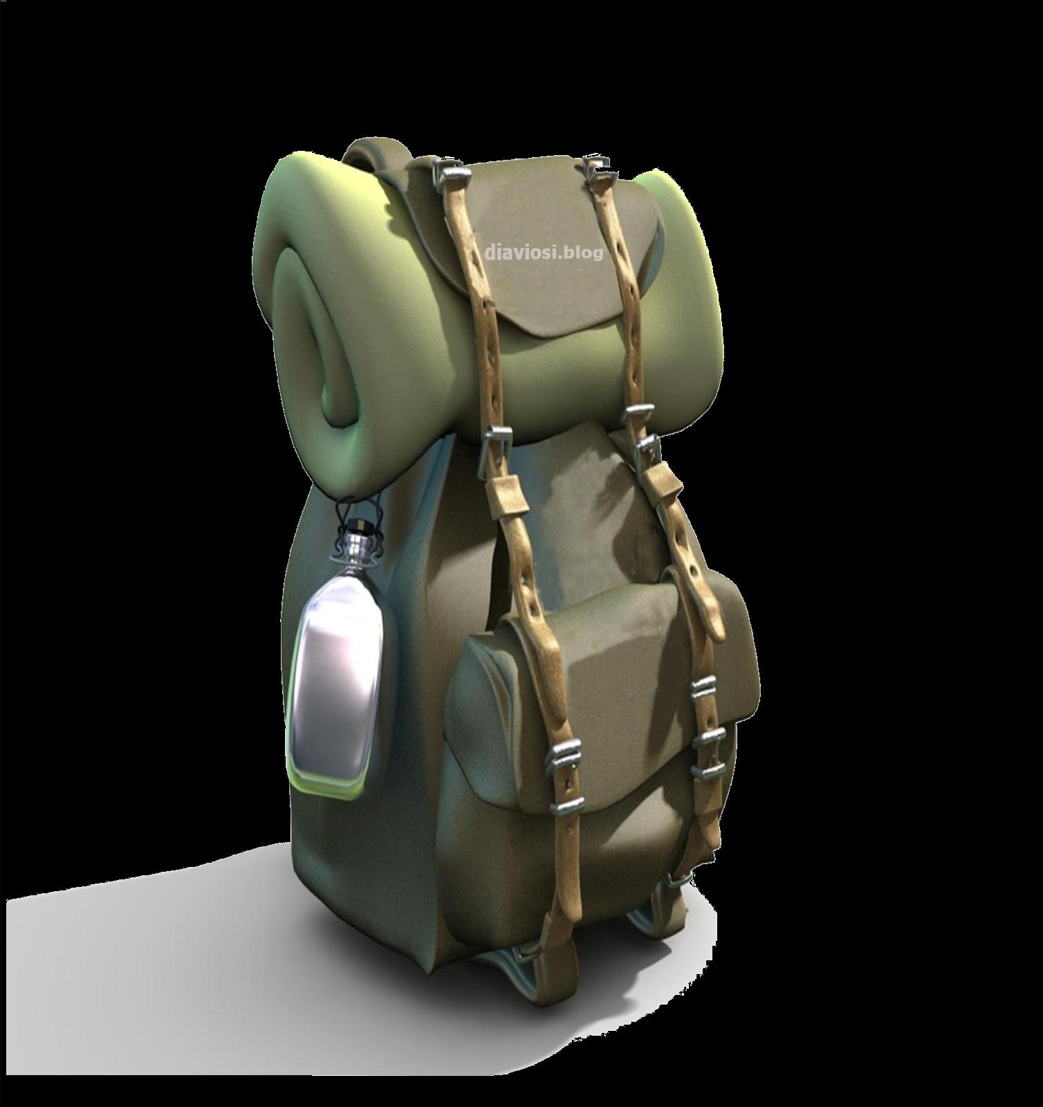Σακίδιο πλάτης για free camping ή πεζοπορία