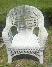 Black Satin Wicker Chairs Pink & White Dresser