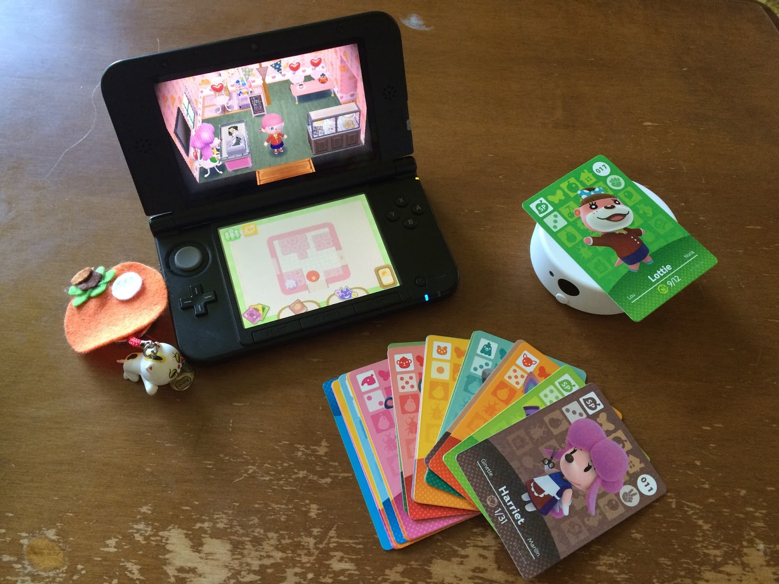 Animal Crossing Happy Home Designer with Amiibo card reader