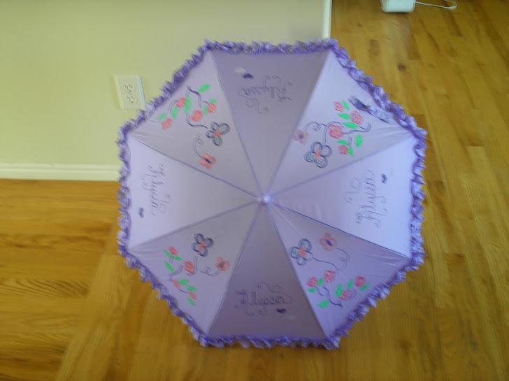 lavender parasol