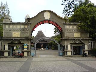 Alamat, sejarah Taman Sriwedari SOLO