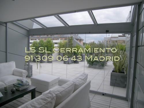 L 5 cerramientos de terrazas y cortinas de cristal techos - Cerramientos de vidrio para interiores ...
