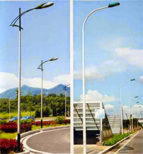 Cột đèn cao áp chiếu snangs đường phố, công viên