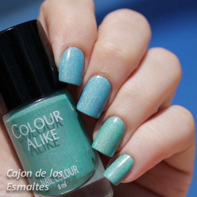 esmaltes de uñas colour alike 512 513
