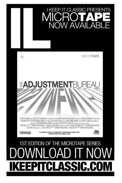 Adjustment Bureau Mixtape by ikeepitclassic
