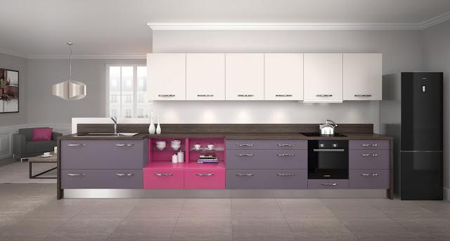 Violet cuisine for Cuisine complete violet