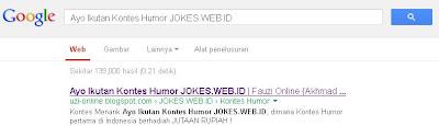 Google Melihat Ayo Ikutan Kontes Humor