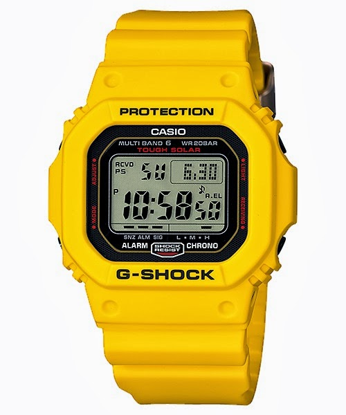 Casio G-Shock GW-M5630E-9JR Lightning Yellow 30th Anniversary Watches