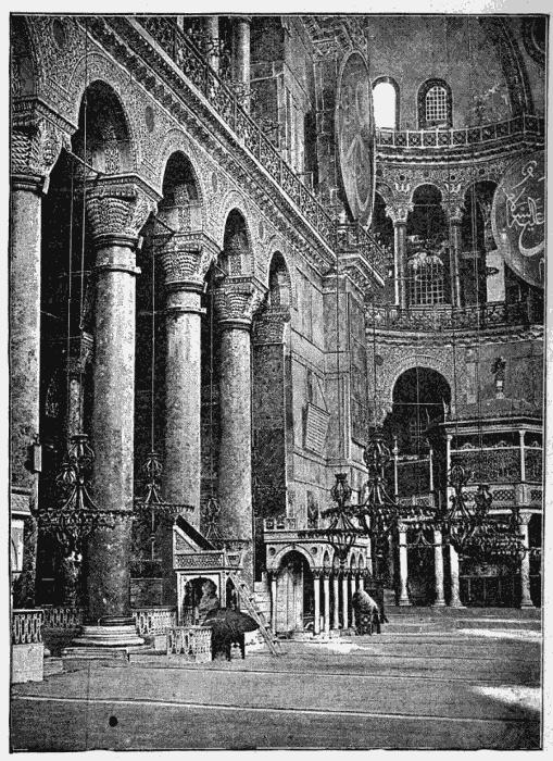 Interior de Santa Sofia.